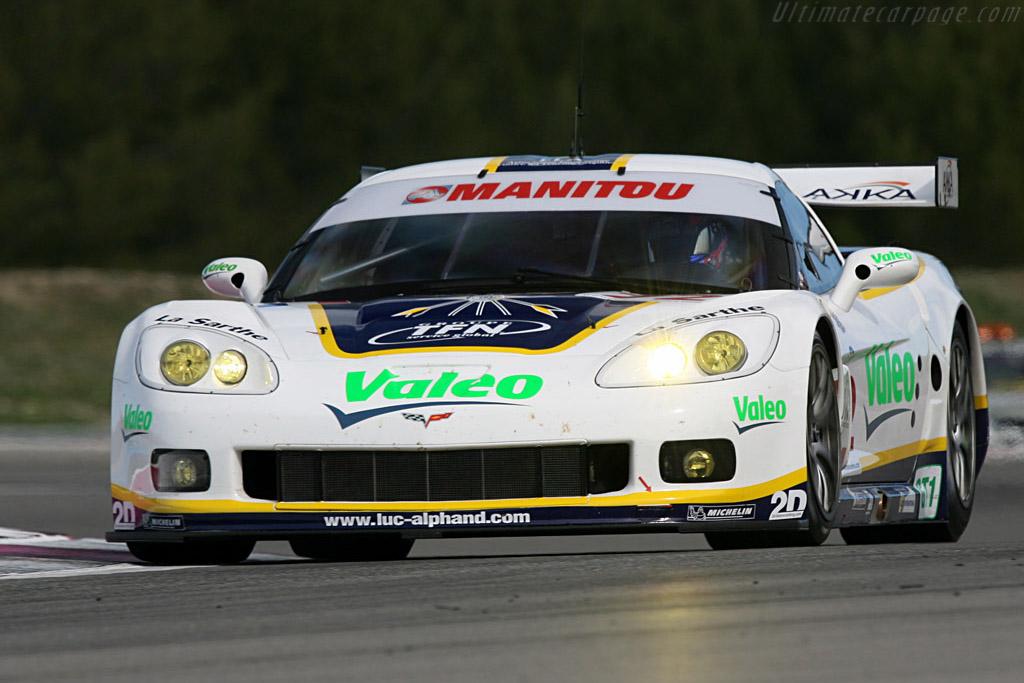 Chevrolet Corvette C6.R - Chassis: 003 - Entrant: Luc Alphand Adventures - Driver: Patrice Gouselard / Luc Alphand / Jonathan Cochet  - 2008 Le Mans Series Preview