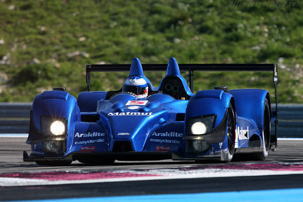 Courage-Oreca LC70 Judd - Chassis: LC70-03 - Entrant: Team Oreca Matmut - Driver: Olivier Panis / Stephane Ortelli  - 2008 Le Mans Series Preview