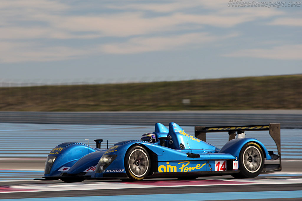 Creation CA07 AIM - Chassis: CA07-001 - Entrant: Creation Autosportif - Driver: Jamie Campbell-Walter / Felipe Ortiz / Stuart Hall  - 2008 Le Mans Series Preview