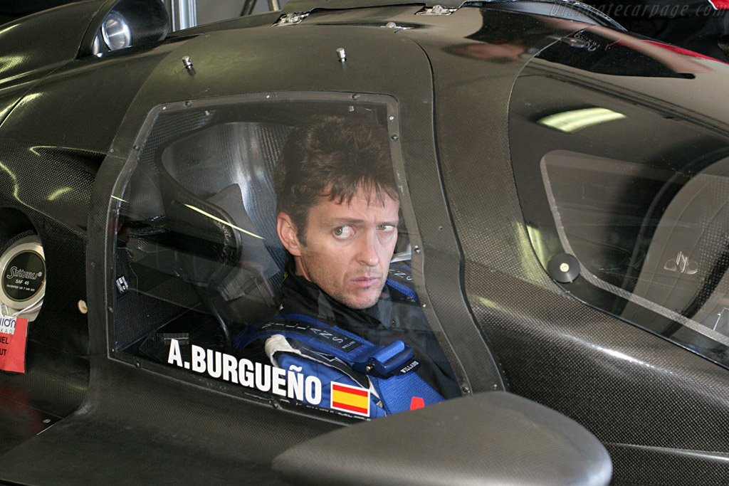 Epsilon Euskadi ee1 Judd - Chassis: 001 - Entrant: Epsilon-Euskadi - Driver: Angel Burgueno  - 2008 Le Mans Series Preview