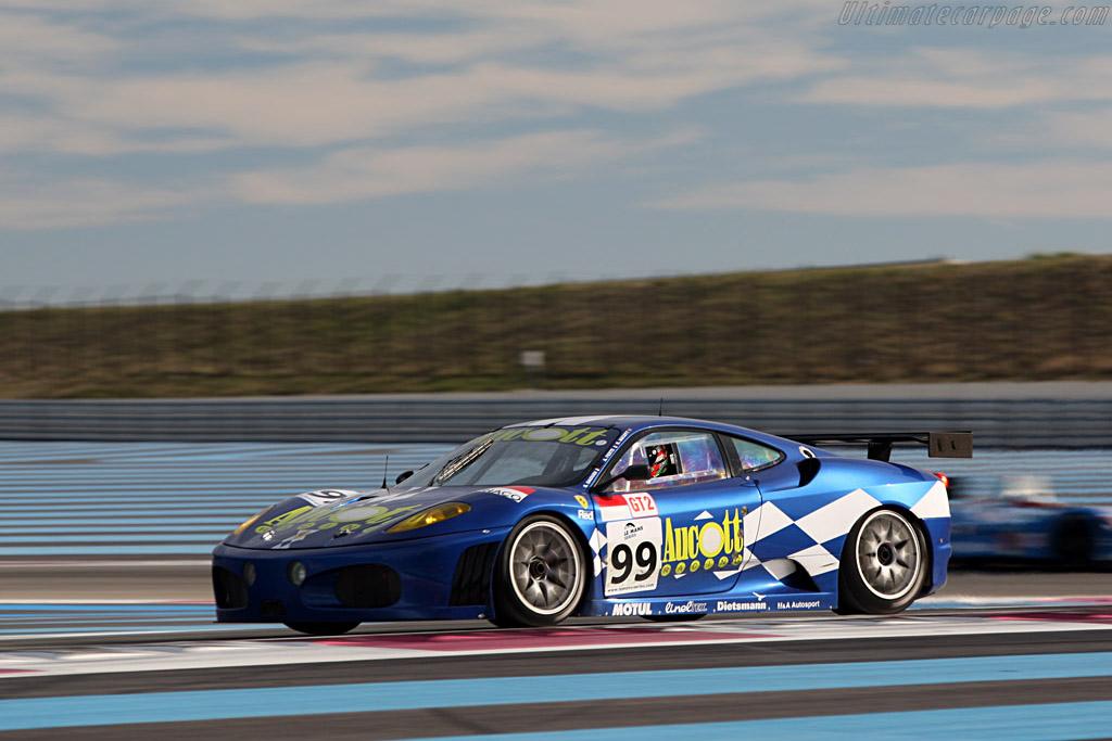 Ferrari F430 GTC - Chassis: 2466 - Entrant: JMB Racing - Driver: Stephane Daoudi / Ben Aucott / Alain Ferte  - 2008 Le Mans Series Preview