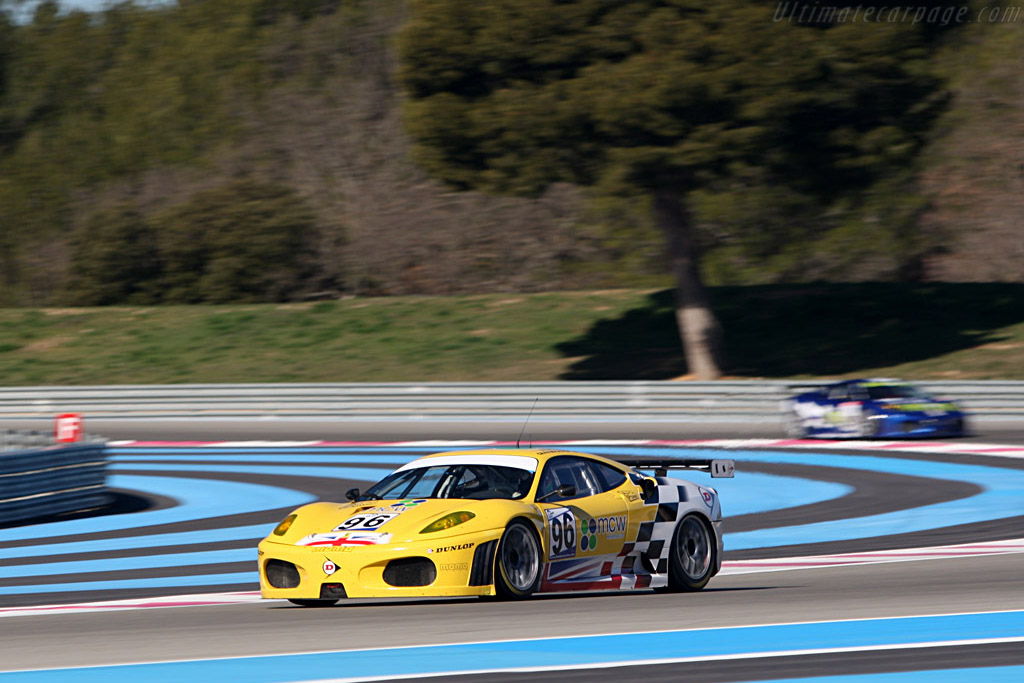 Ferrari F430 GTC - Chassis: 2408 - Entrant: Virgo Motorsport - Driver: Rob Bell / Gianmaria Bruni  - 2008 Le Mans Series Preview