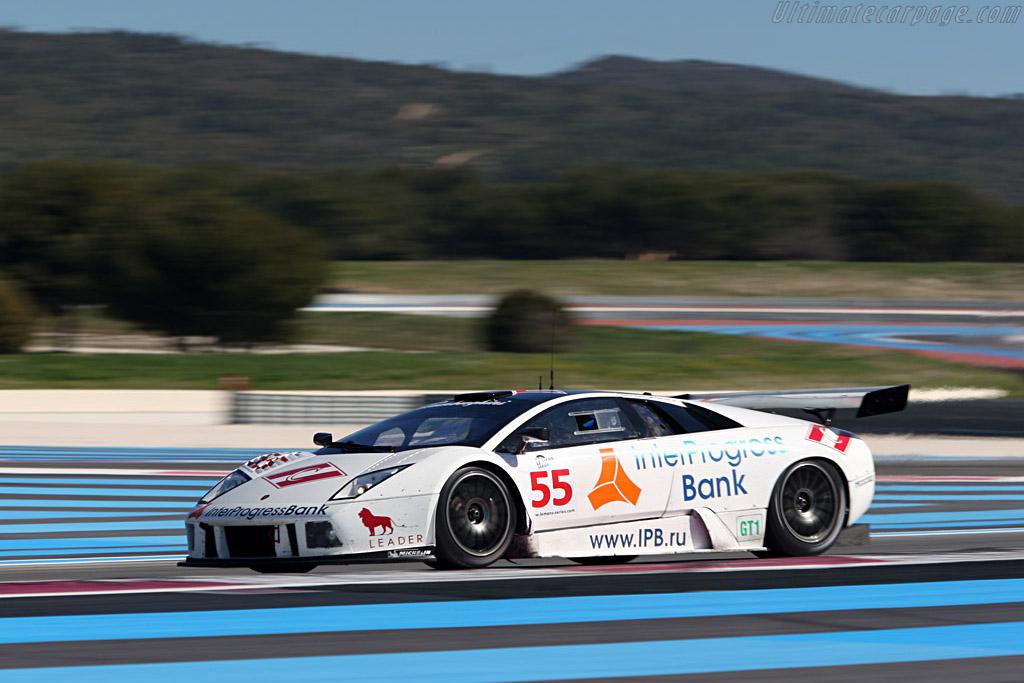 Lamborghini Murcielago R-GT - Chassis: LA01064 - Entrant: IPB Spartak Racing - Driver: Peter Kox / Roman Rusinov  - 2008 Le Mans Series Preview