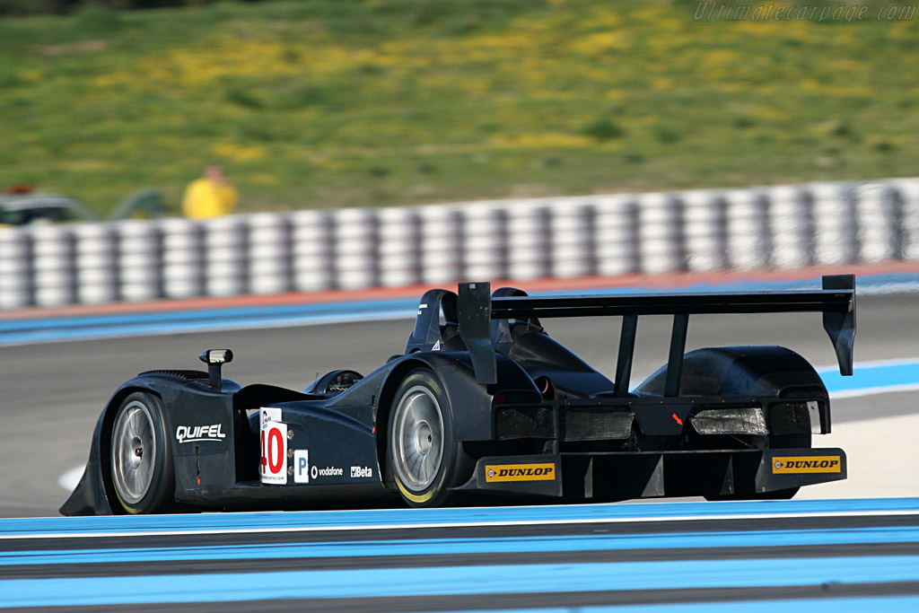 Lola B05/40 AER - Chassis: B0540-HU01 - Entrant: Team Quiffel ASM - Driver: Miguel Amaral / Olivier Pla / Guy Smith  - 2008 Le Mans Series Preview