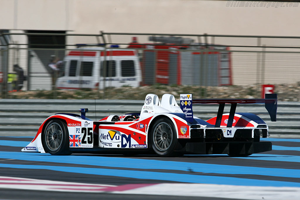 MG Lola EX264 - Chassis: B0540-HU05 - Entrant: RML - Driver: Thomas Erdos / Andy Wallace / Mike Newton  - 2008 Le Mans Series Preview