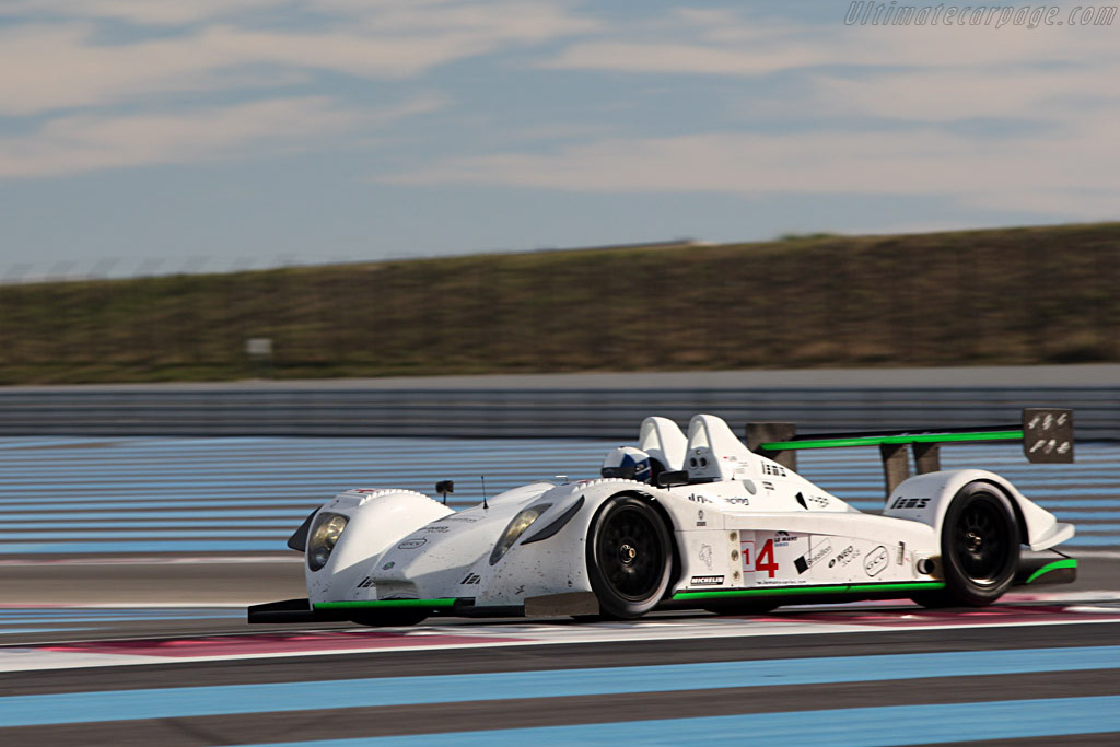 Pescarolo 01 Judd - Chassis: 01-05 - Entrant: Saulnier Racing - Driver: Marc Faggionato / Richard Hein / Jacques Nicolet  - 2008 Le Mans Series Preview