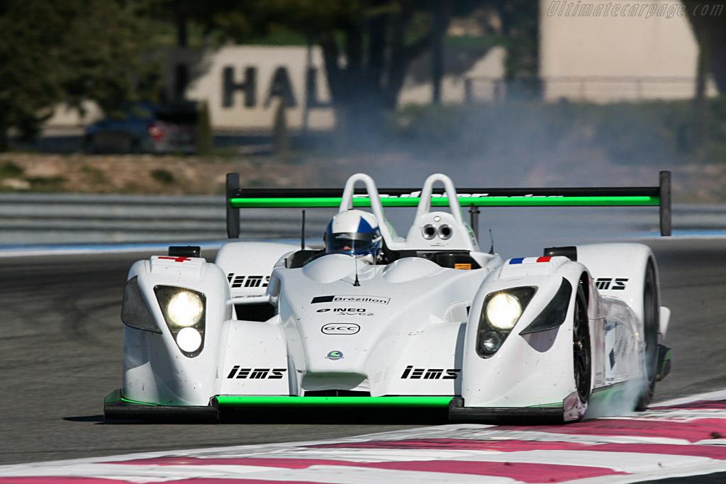 Pescarolo 01 Judd - Chassis: 01-05 - Entrant: Saulnier Racing - Driver: Marc Faggionato / Richard Hein / Jacques Nicolet  - 2008 Le Mans Series Preview