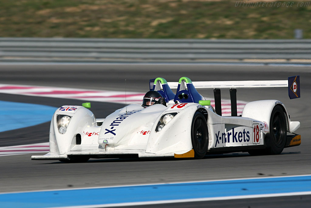 Pescarolo 01 Judd - Chassis: 01-04 - Entrant: Rollcentre Racing - Driver: Joao Barbosa / Martin Short / Vanina Ickx / Dean Stirling / Stephan Gregoire / Marc Rostan / Pierre Bruneau  - 2008 Le Mans Series Preview