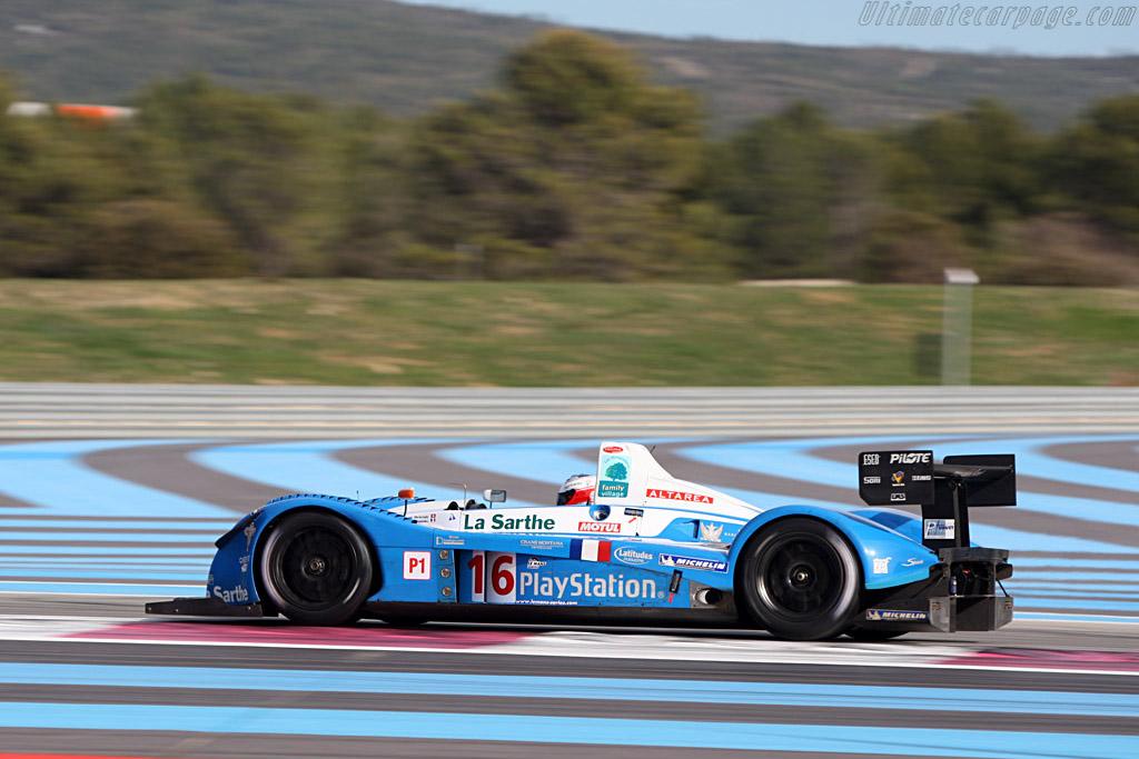 Pescarolo 01 Judd - Chassis: 01-01 - Entrant: Pescarolo Sport - Driver: Emmanuel Collard / Jean-Christophe Bouillon / Harold Primat  - 2008 Le Mans Series Preview