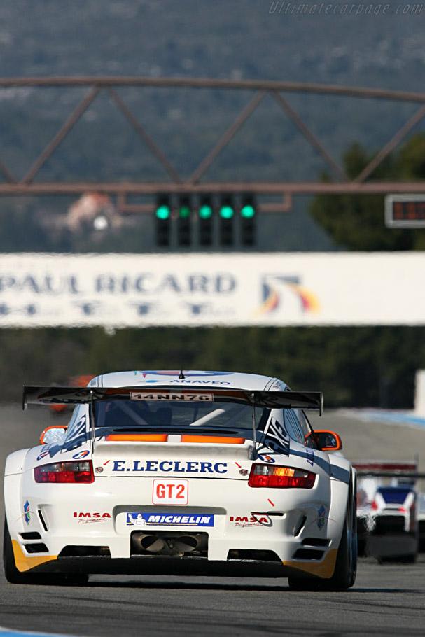 Porsche 997 GT3 RSR - Chassis: WP0ZZZ99Z8S799932 - Entrant: IMSA Performance Matmut - Driver: Michel Lecourt / Richard Balandras / Jean-Philippe Belloc  - 2008 Le Mans Series Preview