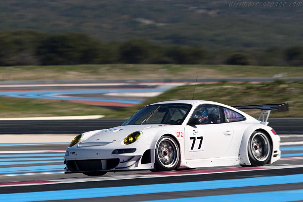 Porsche 997 GT3 RSR EVO - Chassis: WP0ZZZ99Z8S799922 - Entrant: Team Felbermayr-Proton - Driver: Marc Lieb / Alex Davison  - 2008 Le Mans Series Preview