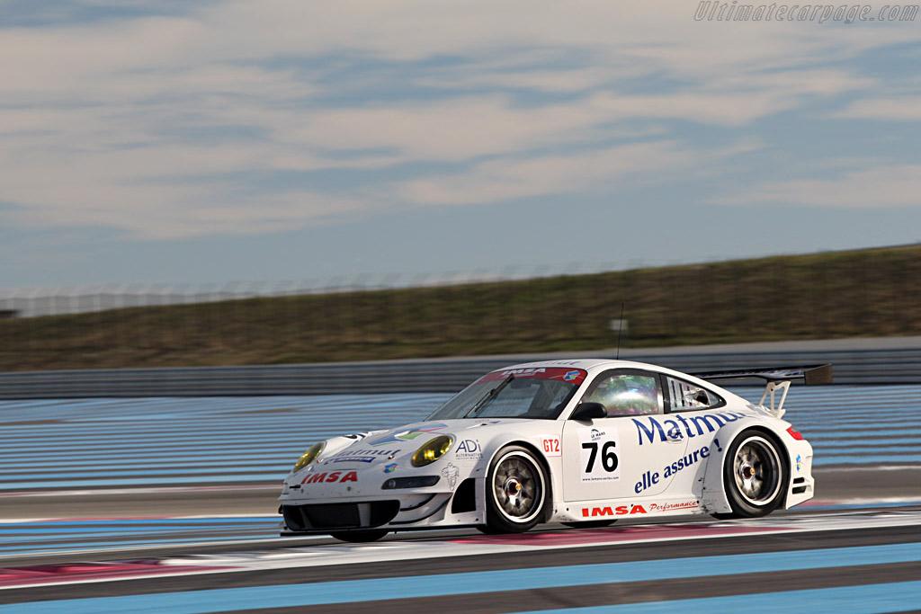 Porsche 997 GT3 RSR EVO - Chassis: WP0ZZZ99Z8S799923 - Entrant: IMSA Performance Matmut - Driver: Richard Lietz / Raymond Narac  - 2008 Le Mans Series Preview
