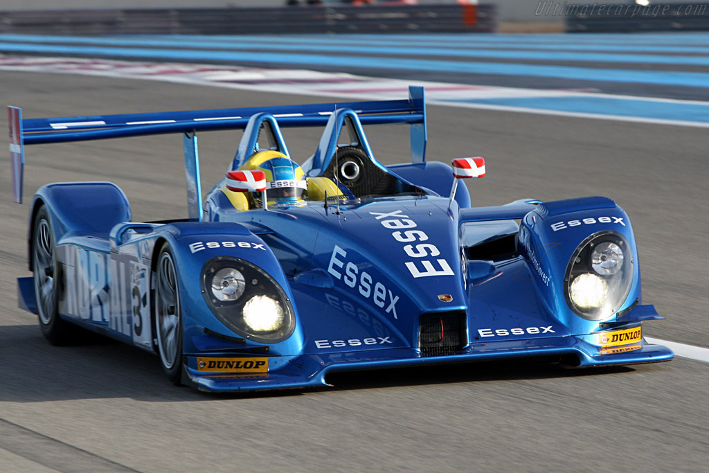 Porsche RS Spyder - Chassis: 9R6 709 - Entrant: Team Essex - Driver: John Nielsen / Casper Elgaard  - 2008 Le Mans Series Preview