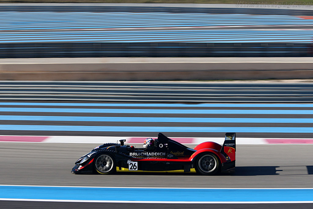 Radical SR9 AER - Chassis: SR9002 - Entrant: Team Bruichladdich Radical - Driver: Stuart Moseley / Jacob Greaves / Jan-Dirk Lueders / Jens Petersen  - 2008 Le Mans Series Preview