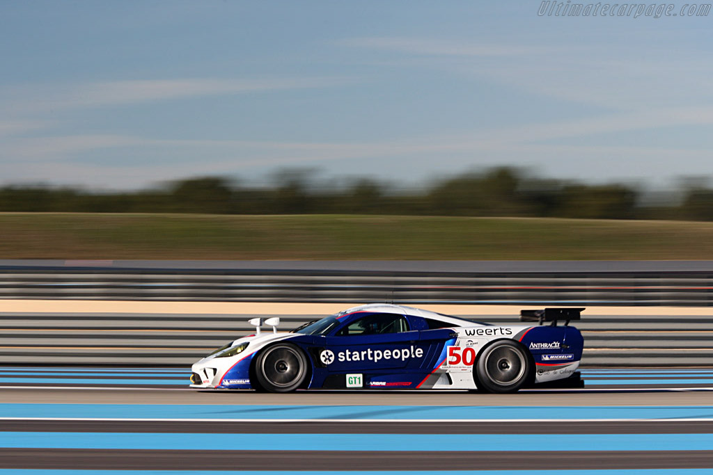 Saleen S7-R - Chassis: 080R - Entrant: Larbre Competition - Driver: Christophe Bouchut / Patrick Bornhauser / David Hallyday / Frederic Makowiecki / Wilfried Merafina - 2008 Le Mans Series Preview