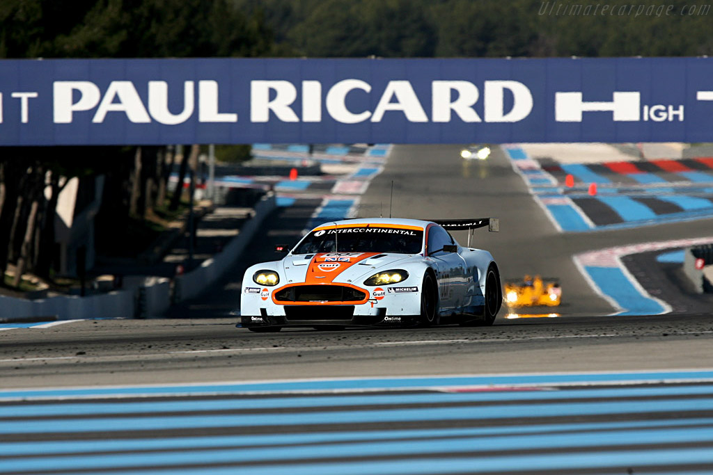 Welcome to Paul Ricard - Chassis: DBR9/7 - Entrant: Aston Martin Racing - Driver: Antonio Garcia / Darren Turner / Karl Wendlinger  - 2008 Le Mans Series Preview