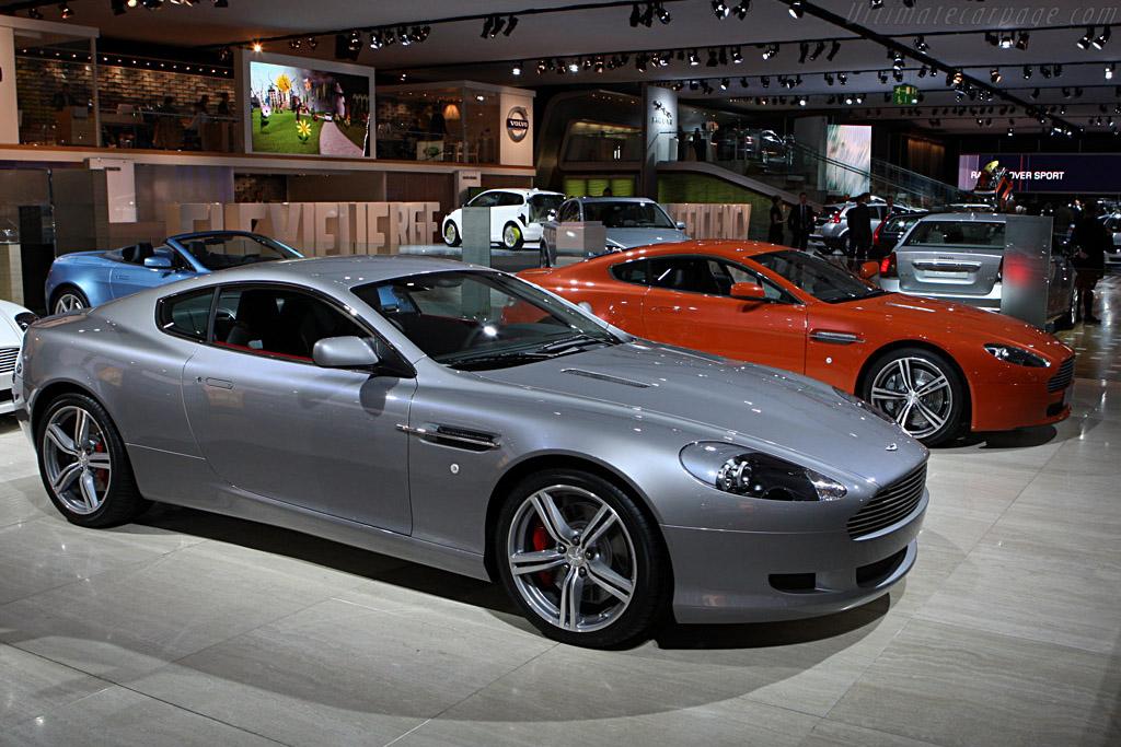 Aston Martin Db9 Lm 2007 Frankfurt Motorshow Iaa