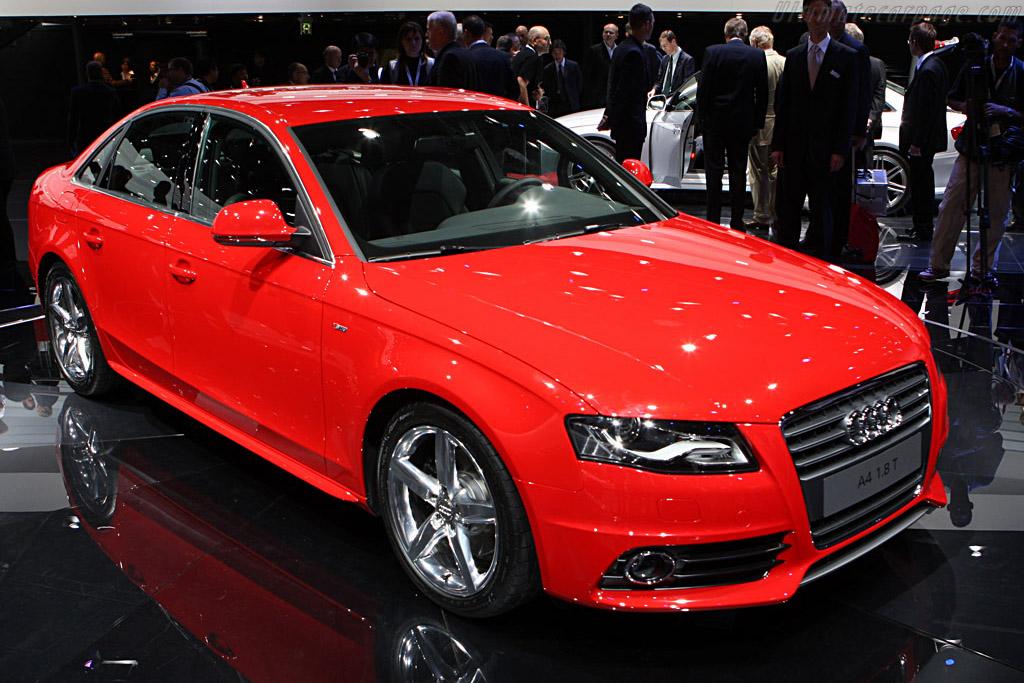 Audi A4    - 2007 Frankfurt Motorshow (IAA)