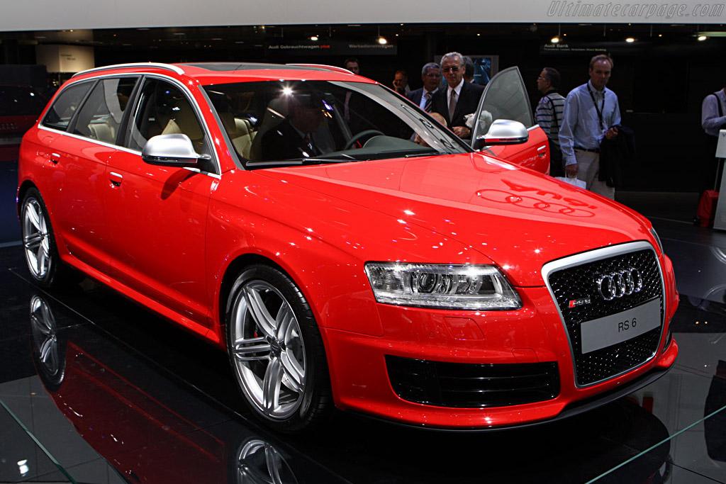 Audi RS6 Avant    - 2007 Frankfurt Motorshow (IAA)