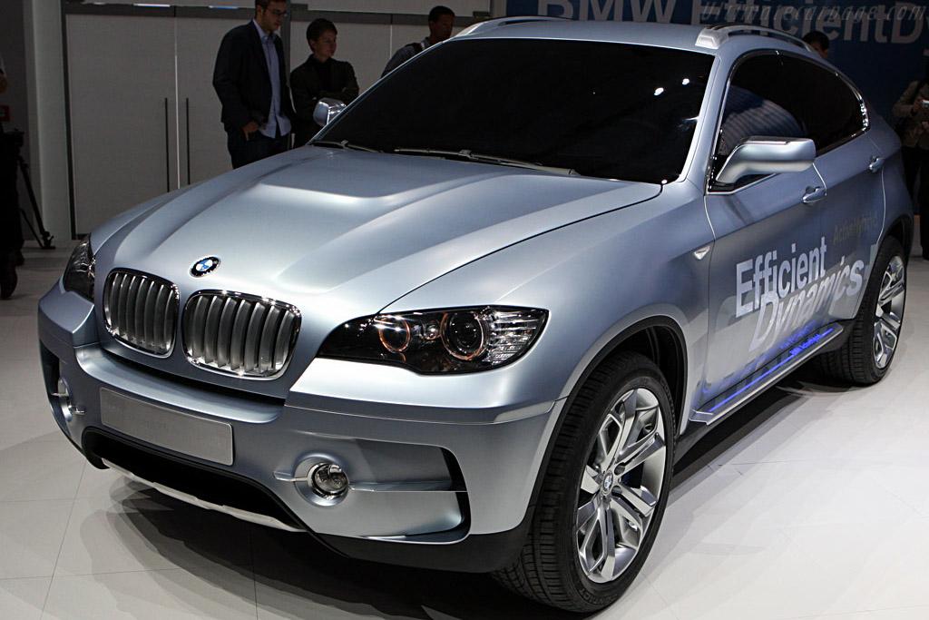 BMW X6 Concept    - 2007 Frankfurt Motorshow (IAA)