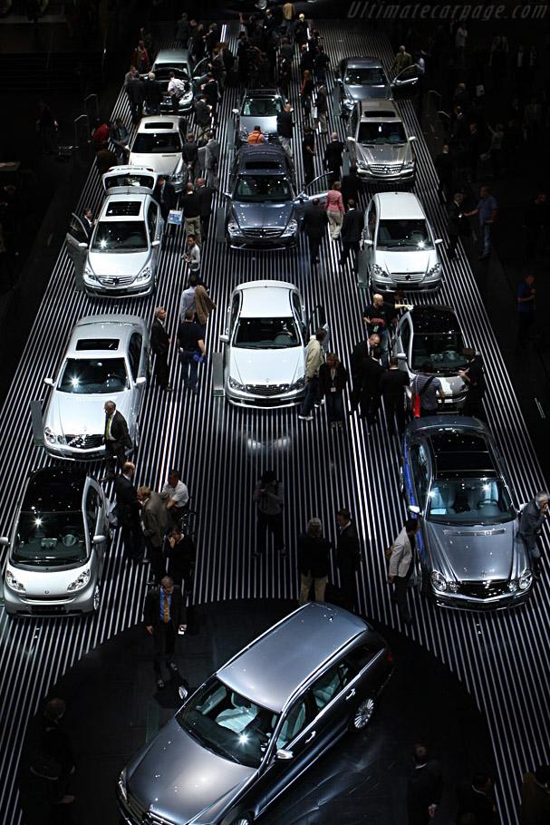 Mercedes-Benz' Road to the future    - 2007 Frankfurt Motorshow (IAA)