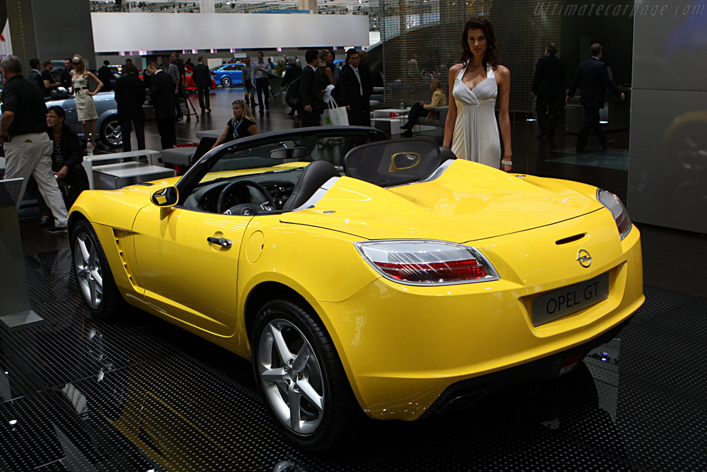 Opel GT    - 2007 Frankfurt Motorshow (IAA)