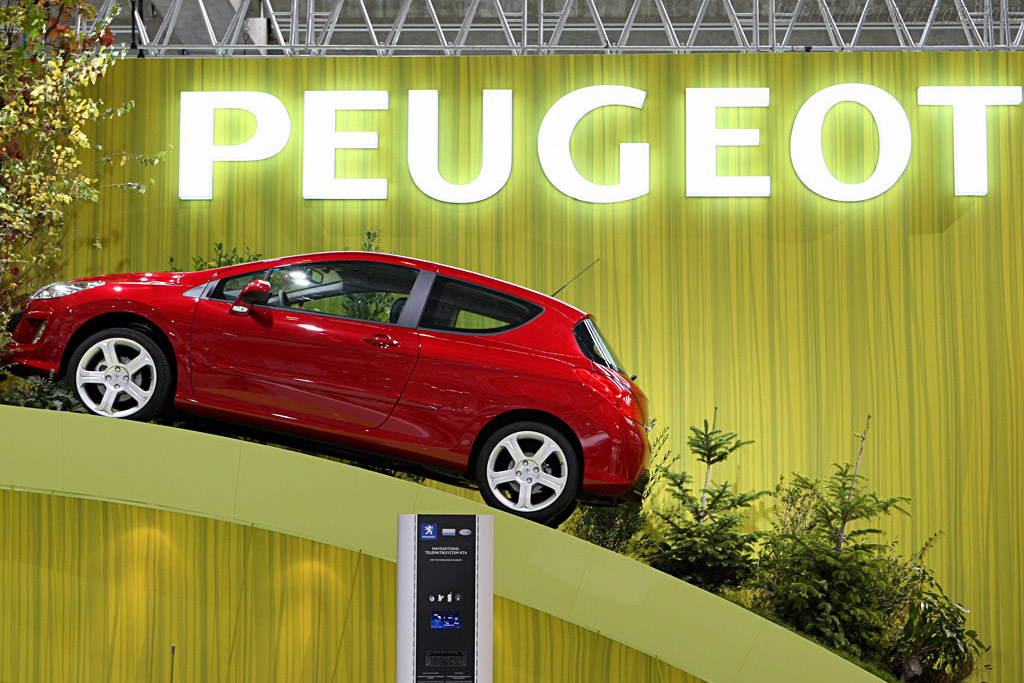 Peugeot 308    - 2007 Frankfurt Motorshow (IAA)