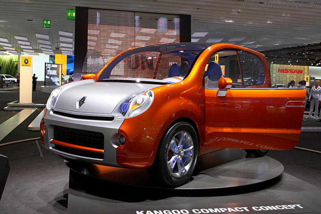 Renault Kangoo Compact Concept    - 2007 Frankfurt Motorshow (IAA)