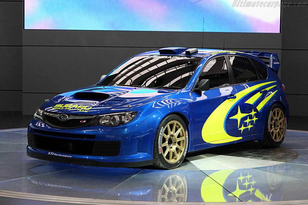 Subaru WRC Concept    - 2007 Frankfurt Motorshow (IAA)