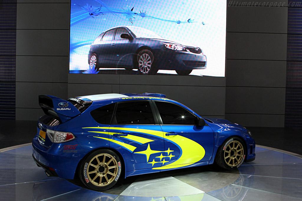 Subaru Wrc Concept 2007 Frankfurt Motorshow Iaa