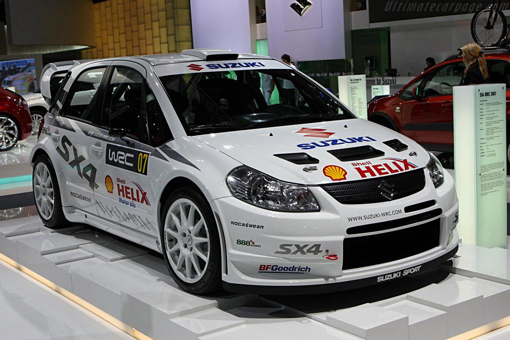 Suzuki SX4 WRC    - 2007 Frankfurt Motorshow (IAA)