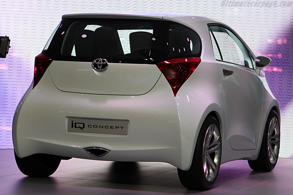Toyota IQ Concept    - 2007 Frankfurt Motorshow (IAA)