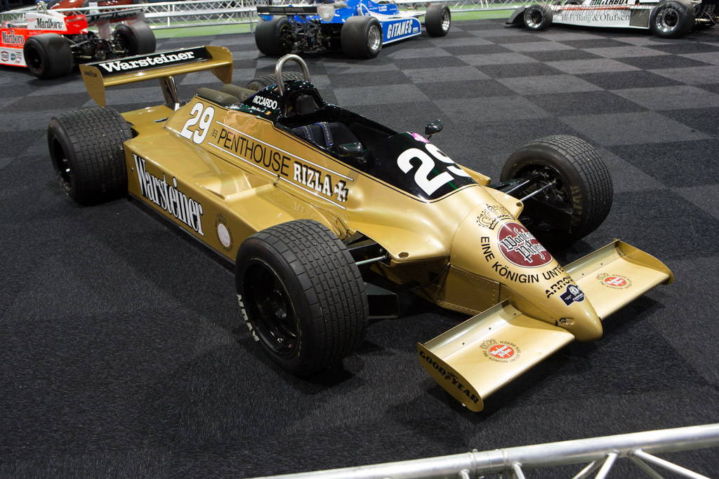 Arrows A3 Cosworth - Chassis: A3-3   - 2015 Interclassics and Topmobiel