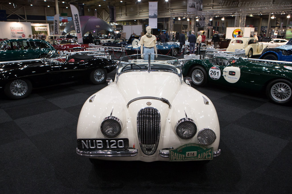 Jaguar XK120 - Chassis: 660044   - 2015 Interclassics and Topmobiel