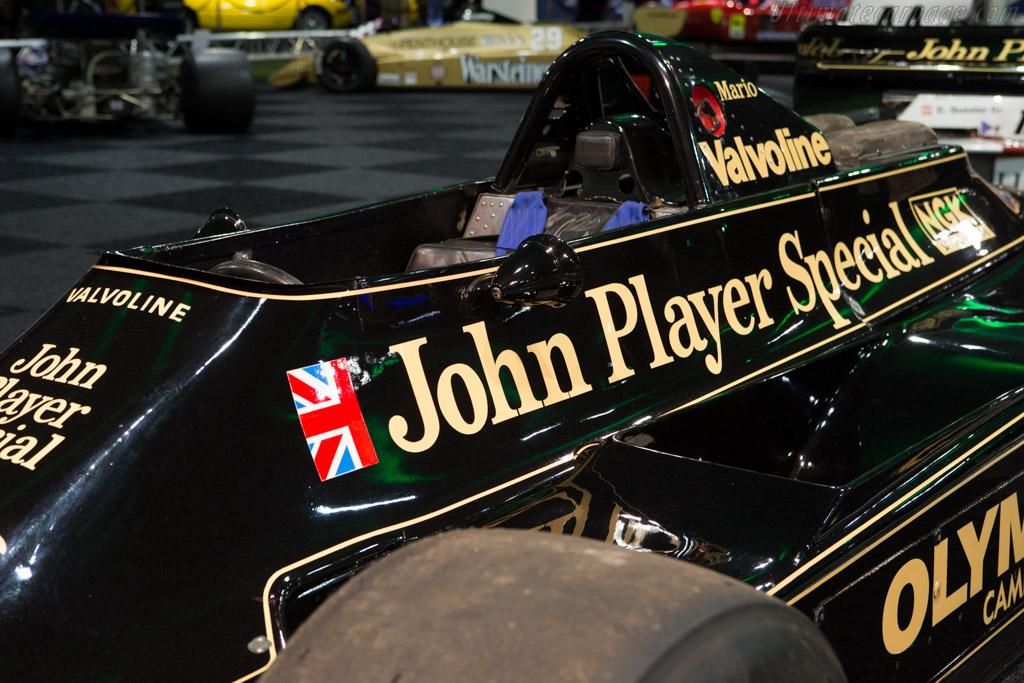 Lotus 79 Cosworth - Chassis: 79/3   - 2015 Interclassics and Topmobiel