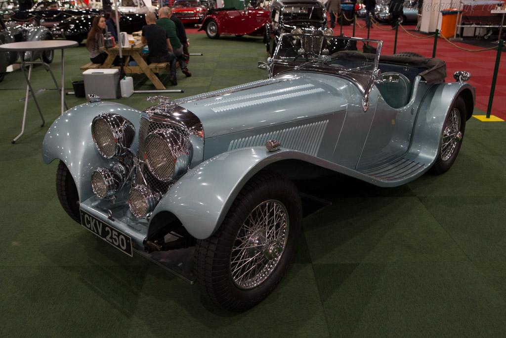 SS 100 Jaguar    - 2015 Interclassics and Topmobiel
