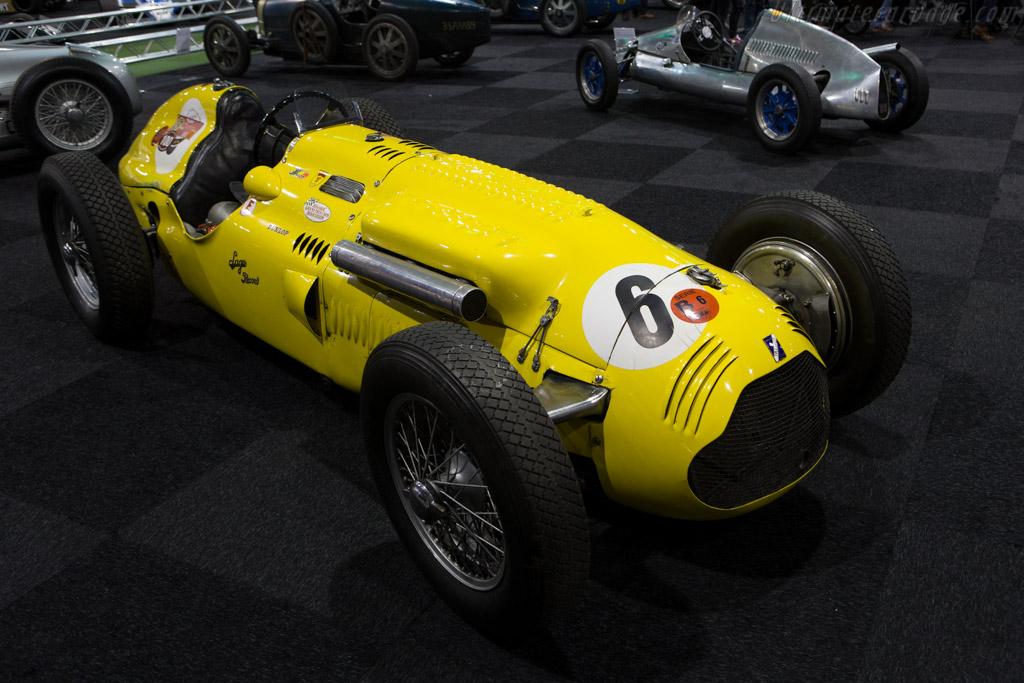 Talbot Lago T26C GP - Chassis: 110006C   - 2015 Interclassics and Topmobiel