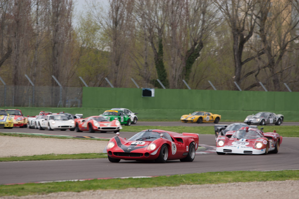 Off they go - Chassis: SL73/110 - Driver: Bernard Thuner  - 2013 Imola Classic