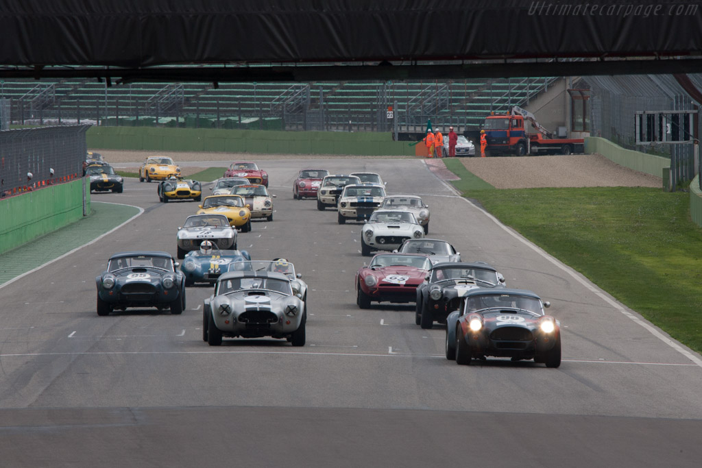 Off they go    - 2013 Imola Classic