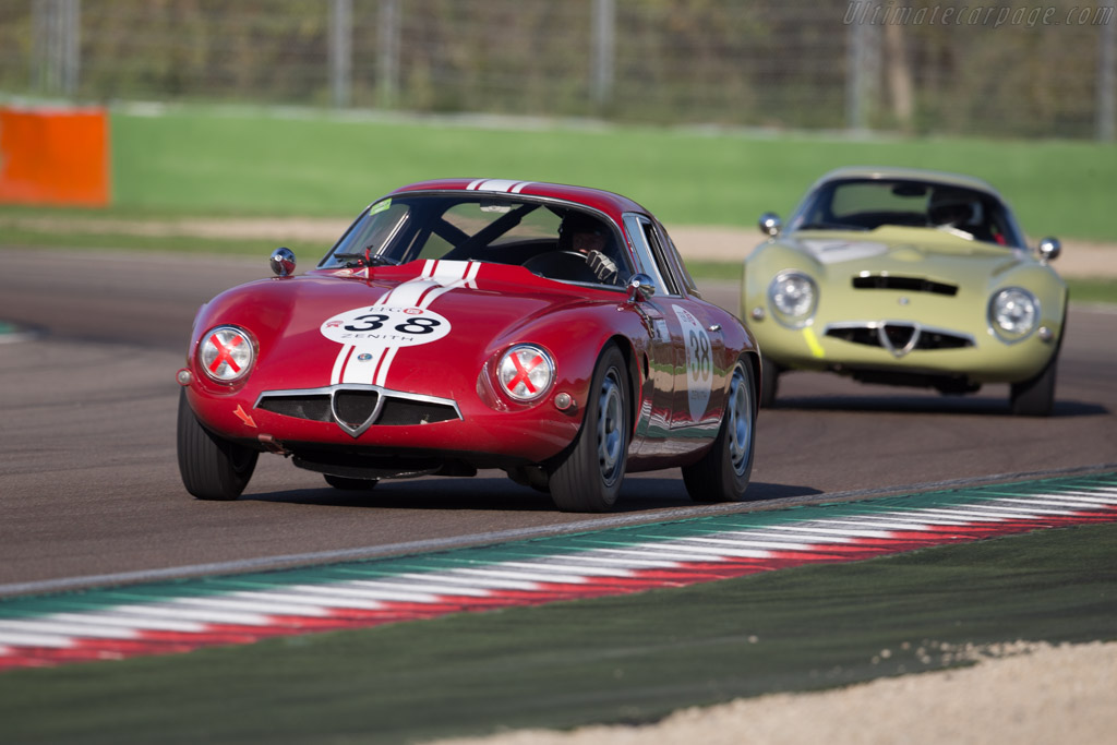 Alfa Romeo TZ - Chassis: AR750098 - Driver: Lucien Guitteny  - 2016 Imola Classic