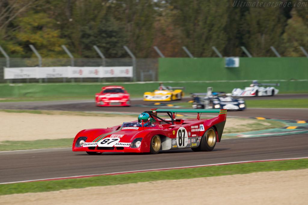 Ferrari 312 PB - Chassis: 0892 - Driver: Steven Read / Giovanni Lavaggi  - 2016 Imola Classic