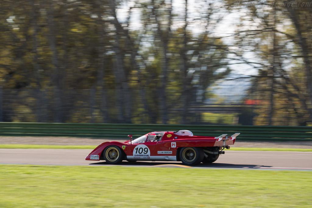 Ferrari 512 M - Chassis: 1024 - Driver: Steven Read / Giovanni Lavaggi  - 2016 Imola Classic