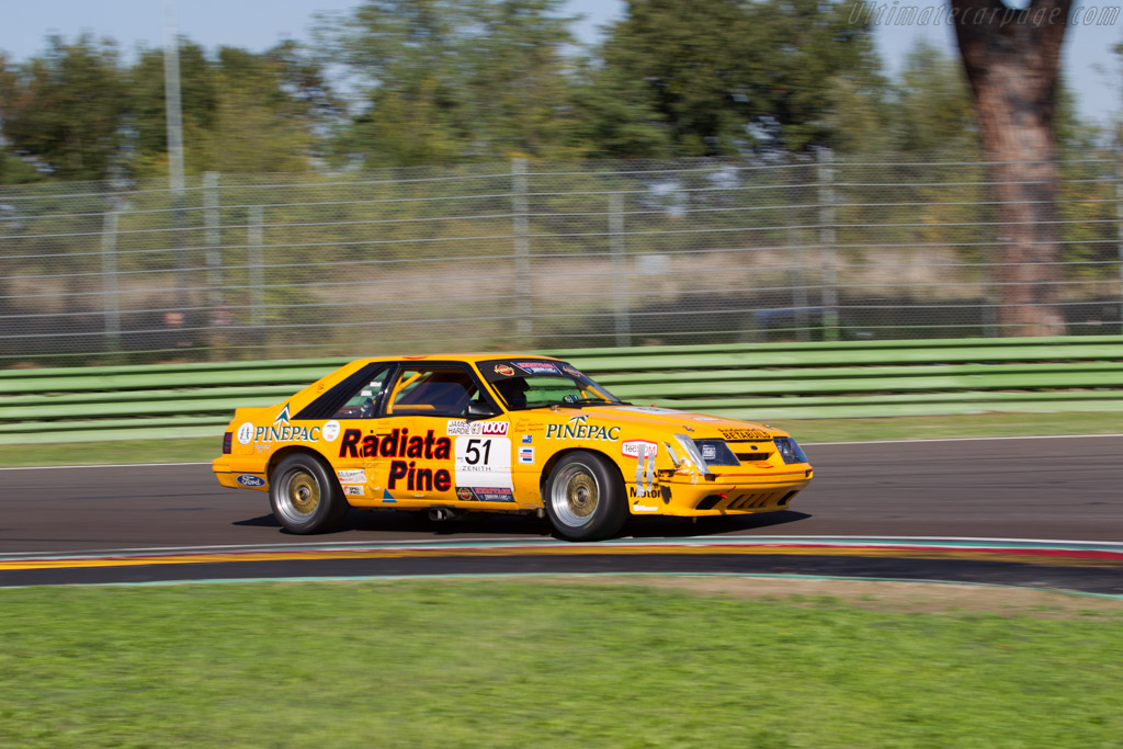 Ford Mustang GT Group A  - Driver: Benjamin Poron  - 2016 Imola Classic
