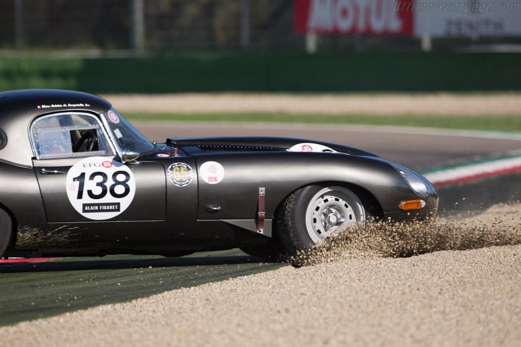 Jaguar E-Type - Chassis: 878765 - Driver: Marc-Antoine de Longevialle  - 2016 Imola Classic