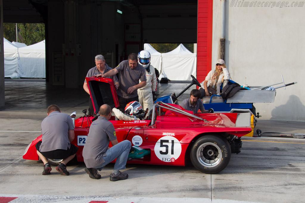 Lola T290 - Chassis: HU34 - Driver: Gianluca Rattazzi / Emanuele Pirro  - 2016 Imola Classic
