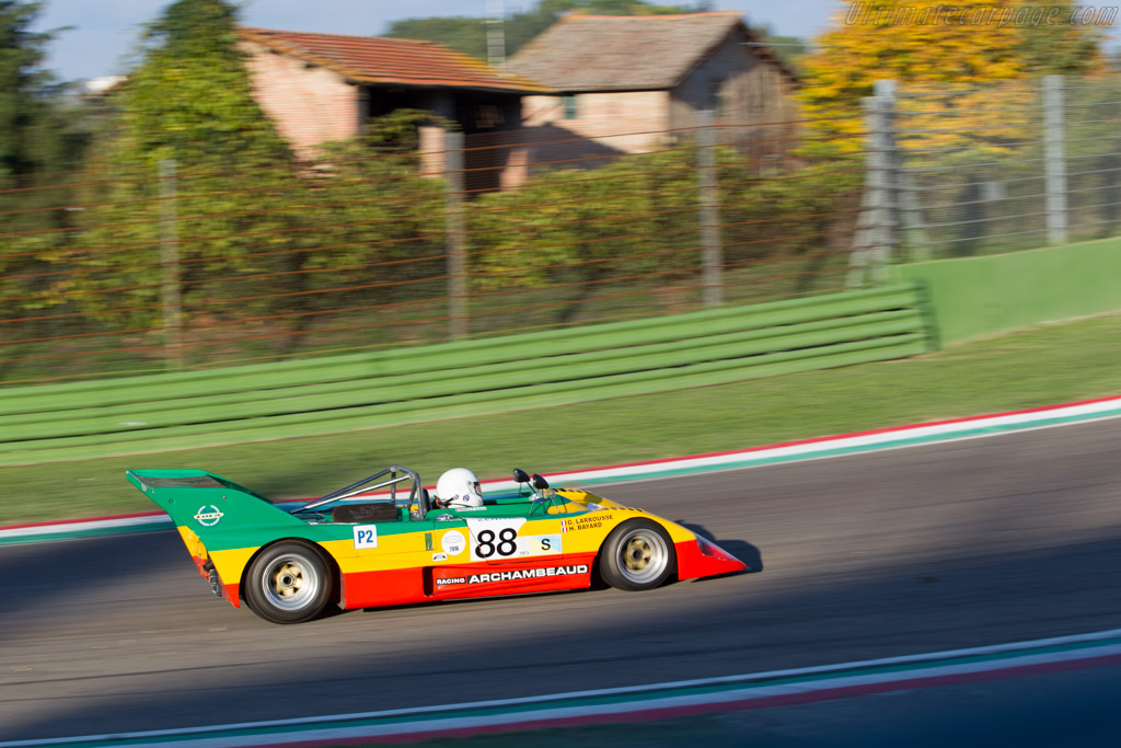 Lola T292 - Chassis: HU54 - Driver: Louis Kolly  - 2016 Imola Classic
