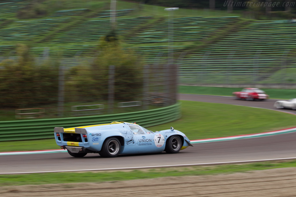 Lola T70 Mk3 Coupe - Chassis: SL73/132 - Driver: Toni Seiler  - 2016 Imola Classic