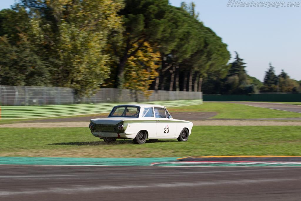 Lotus Cortina  - Driver: Andrea Stortoni / Emanuele Pirro  - 2016 Imola Classic