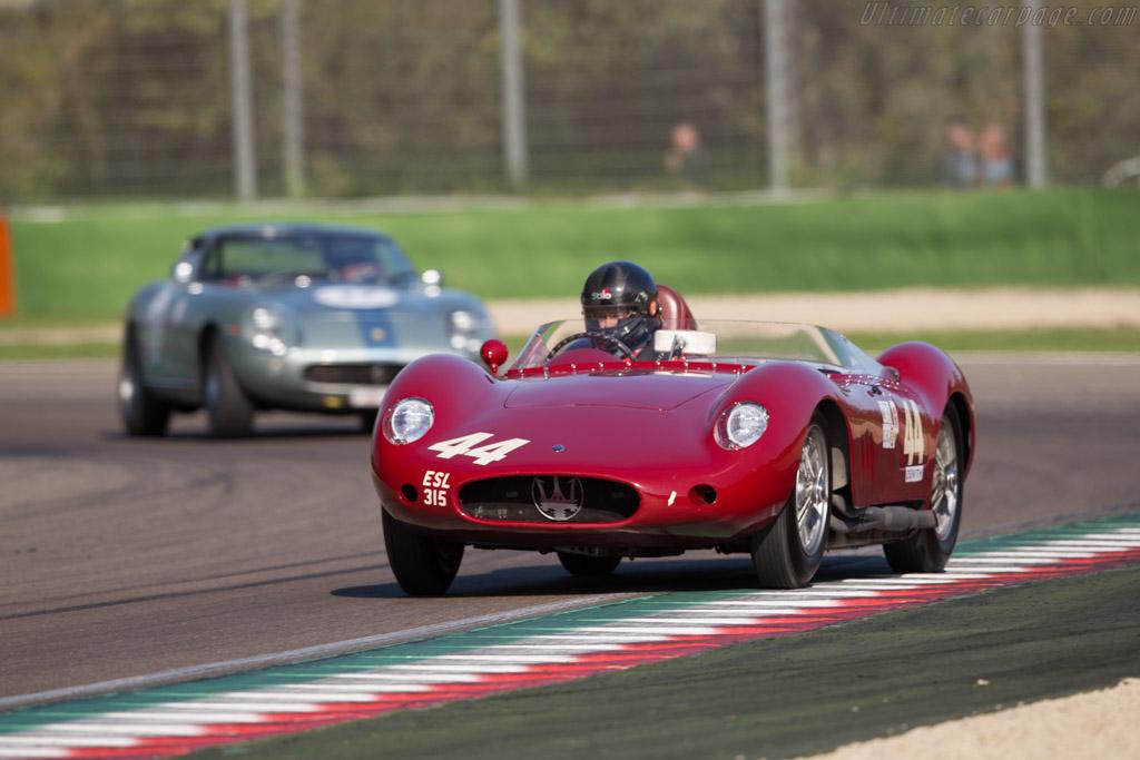 Maserati 250S - Chassis: 2432 - Driver: Richard Wilson  - 2016 Imola Classic