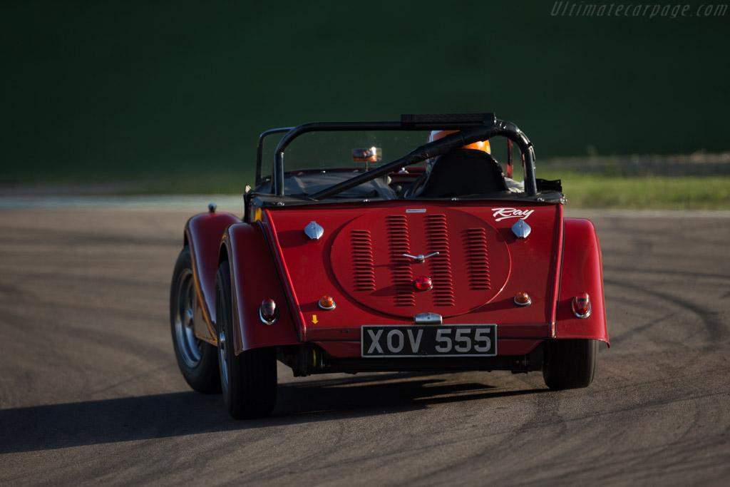 Morgan +4 - Chassis: 4156 - Driver: Adrian van der Kroft / Richard Plant  - 2016 Imola Classic